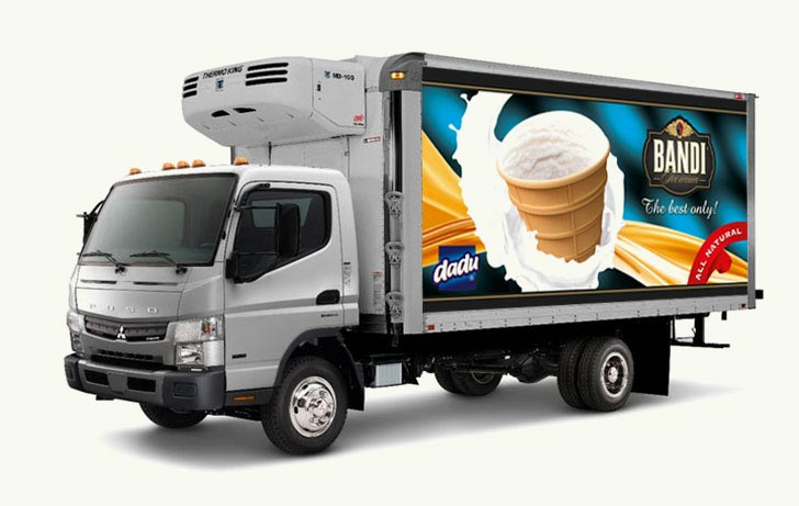 Bandi Foods delivery track