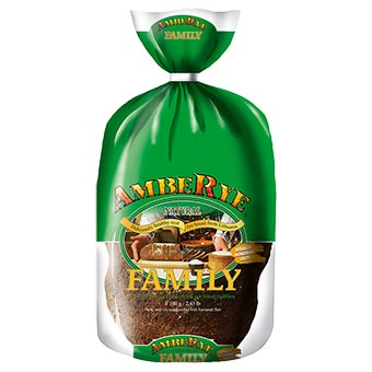 AmbeRye Family Dark Rye Bread