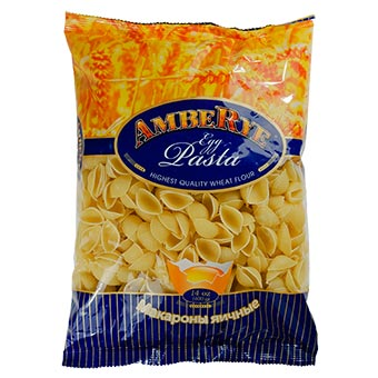 AmbeRye Shells Pasta