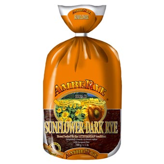 AmbeRye Sunflower Dark Rye Bread