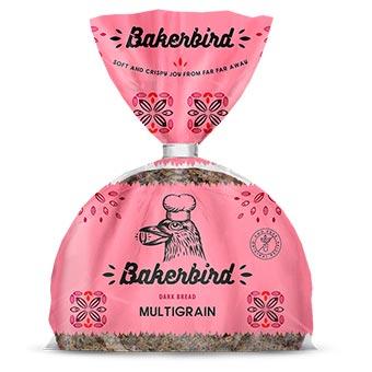 Bakerbird Multigrain Dark Bread 300g