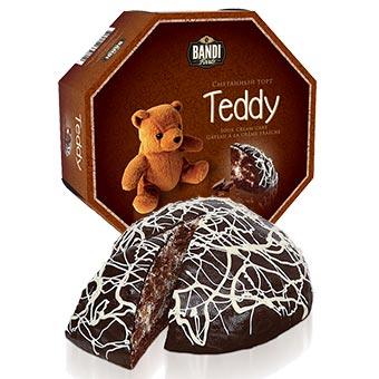 Teddy Cacao Sour Cream Cake
