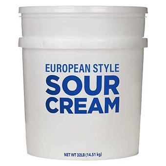Bandi European Style Sour Cream Bucket 32lb