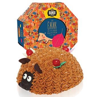 Bandi Little Hedgehog Cake