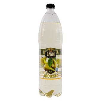 Bandi Pear Flavored Carbonated Soft Drink