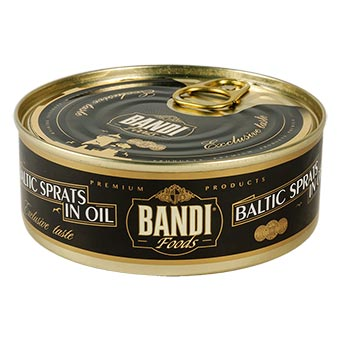 Bandi Smoked Sprats in Oil (Easy Opener) 240g