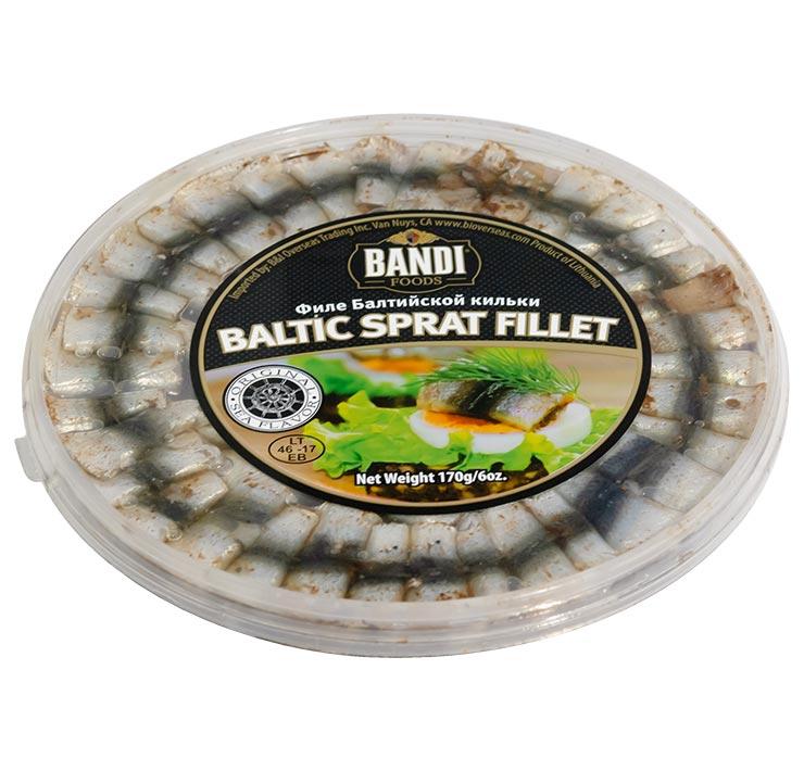 Bandi Sprat Fillet with Spices 170g