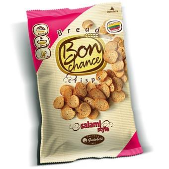 Bon Chance Salami Bread Crisps