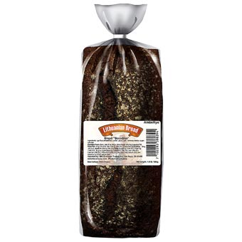 """Borodino"" Borodinskiy Russian Rye Bread"