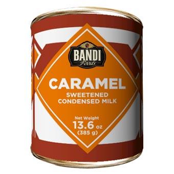 Bandi Caramel Sweetened Condensed Milk with Easy Opener