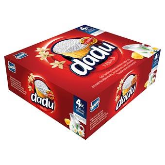 Dadu Family 4-Pack Vanilla Ice Cream