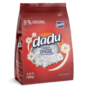 Dadu Farmer Cheese Original 9% 380g