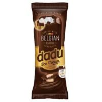 Dadu Vanilla Ice Cream Coated with Belgian Dark Chocolate