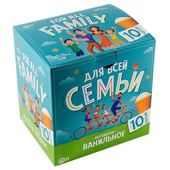 For All Family Vanilla Ice Cream 10-pack
