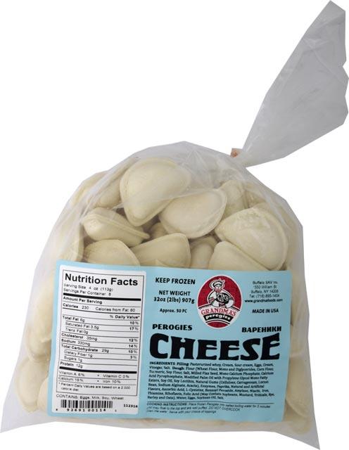 Grandmas Farmer Cheese Pierogi