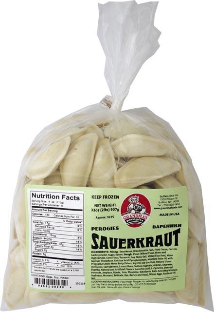 Grandmas Sauerkraut Pierogi
