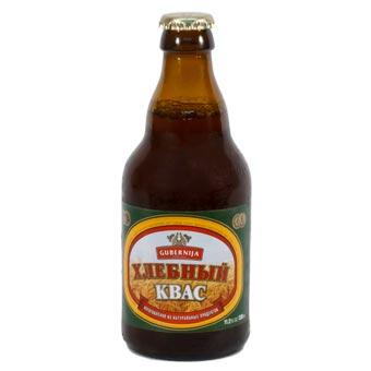 Gubernija Russian Kvass Naturally Carbonated Soft Drink 330ml Bottle