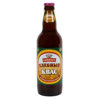 Gubernija Russian Kvass Naturally Carbonated Soft Drink 500ml Bottle