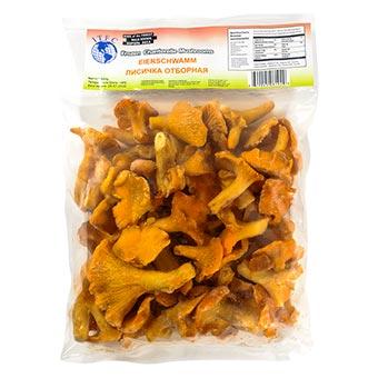ITFC Frozen Chanterelle Whole Mushrooms 500g