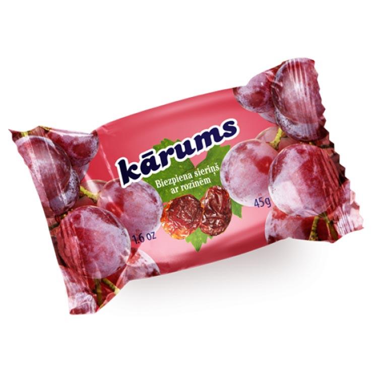 Karums Raisins Cheesecake Bar