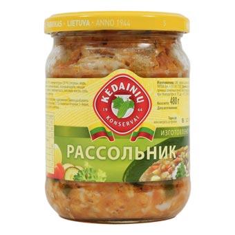 Kedainiu Rassolnik Pickled Cucumber Soup