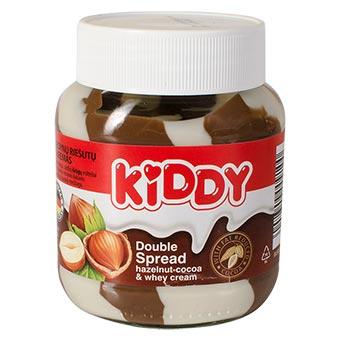 Kiddy Duo Hazelnut Cocoa & Whey Cream Double Spread 350g