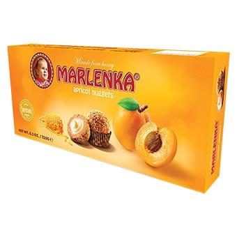 Marlenka Apricot Honey Nuggets 235g
