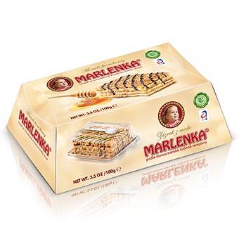 Marlenka Honey Cake with Nuts 100g