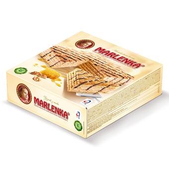Marlenka Honey Cake with Nuts