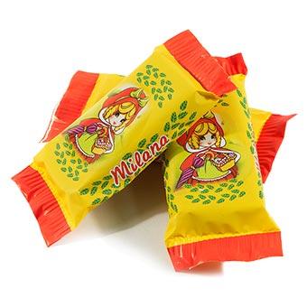 Milana Glazed Wafer Sweets with Vanila Flavor