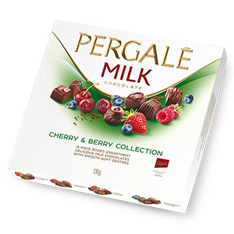 Pergale Cherry Berry Collection Candies