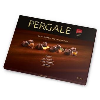 Pergale Dark Chocolate with Whisky Hazelnuts Milk Caramel Truffle 373g
