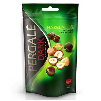 Pergale Dragee Hazelnuts in Dark Chocolate 100g