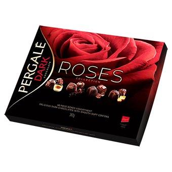 Pergale Roses Assorted Dark Chocolates 382g