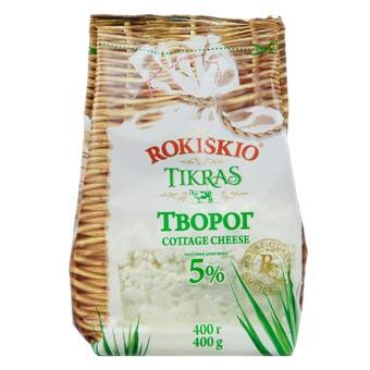 Rokiskio Farmer Cheese 5% fat