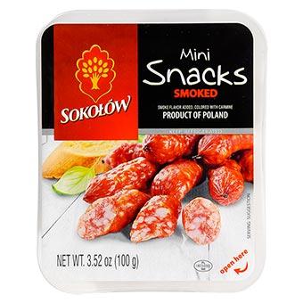 Sokolow Smoked Mini Snacks 100g