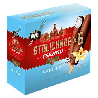 Bandi Stolichnoe Eskimo Frozen Dessert 6 Pack