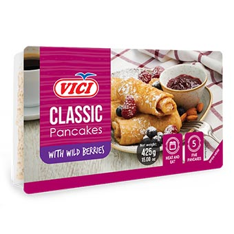 Vici Classic Pancakes with Wild Berries 425g